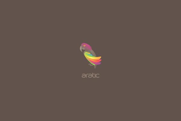 Inspirational Parrot Logo Design