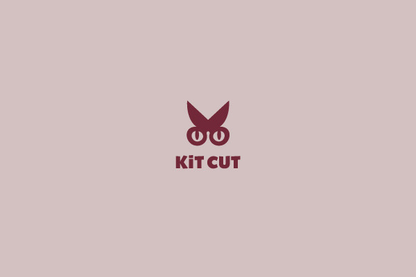 Kit Cut Scissors Logo