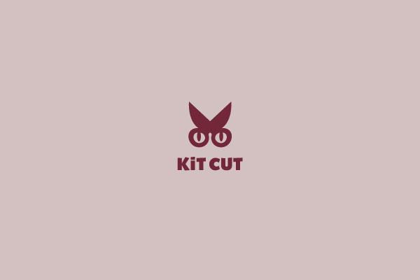 kit cut scissors logo