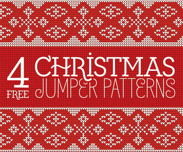 Knitted Christmas Seamless Jumper Patterns