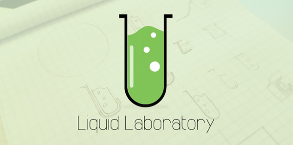 Liquid Laboratory logo design