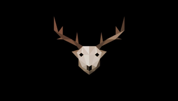 Low-Poly-Deer-Logo-Design