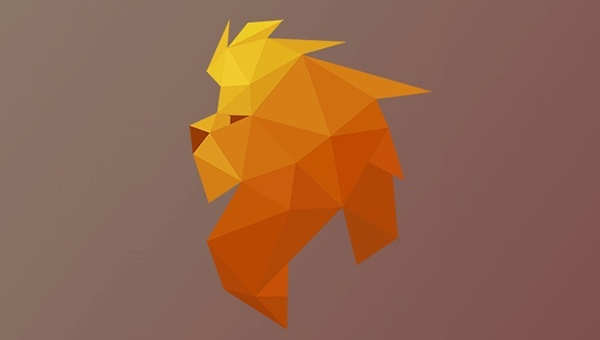 Low-Poly-Lion-Logo-Design