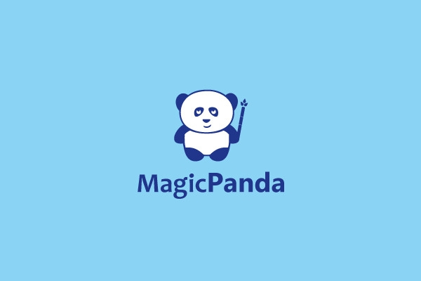 Magic PAnda Logo Design