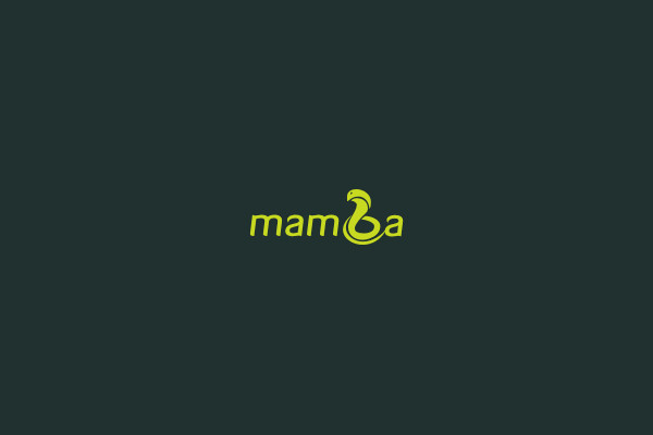 Mamba Inspirational Snake Logo