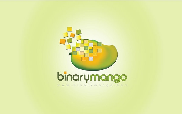 Mango Binary Logo Design