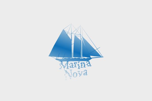 Marina Nova Logo Design