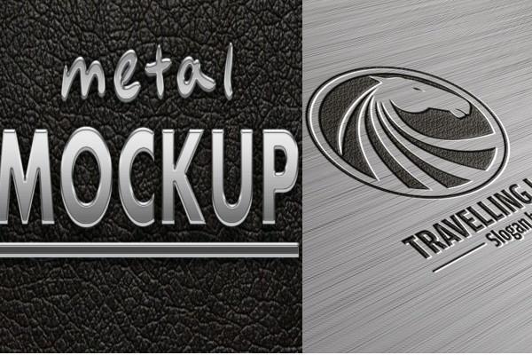 Metal Logo Mockups