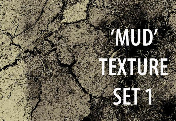 Mud Textures Set