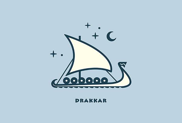 Nicely Designed Boat Logo