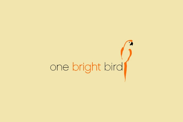 One Bright Bird Logo Design