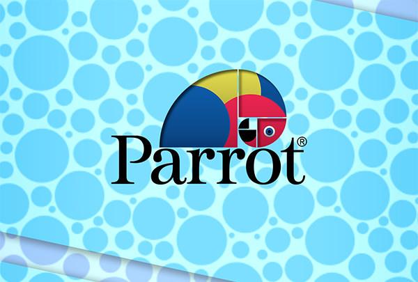 Parrot Logo Design Type