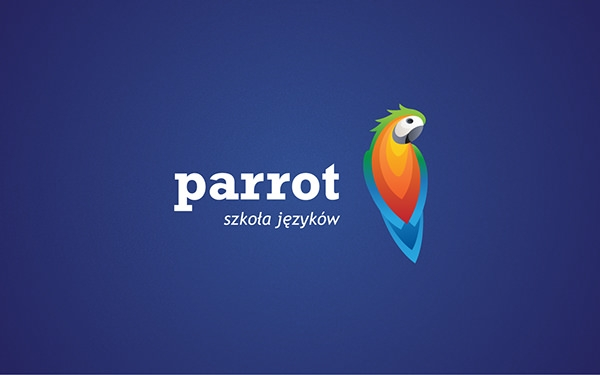 Parrot School Logo Design