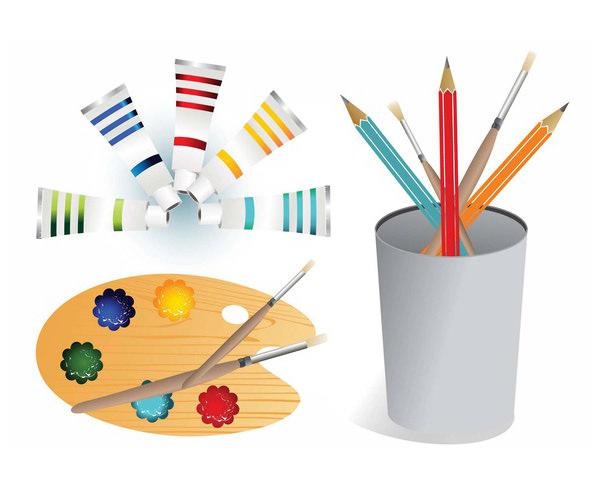 Pencil vector Graphics Art