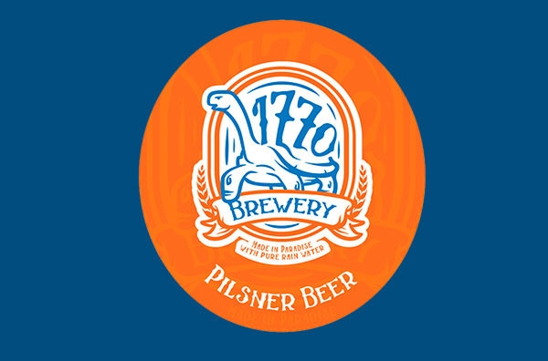 Pilsner Beer Logo Design