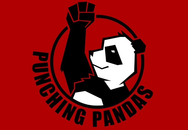 Punching-Panda-Logo-Design
