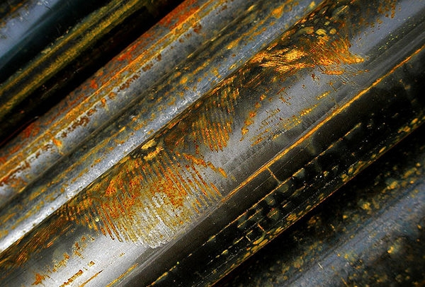 Rusty Pipes Metal Texture