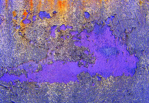 Rusty Violet Metal Texture