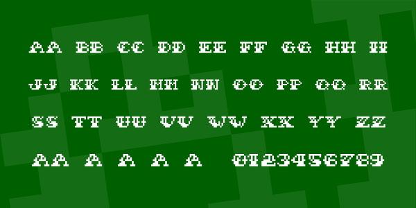 Sailor Stitch Font
