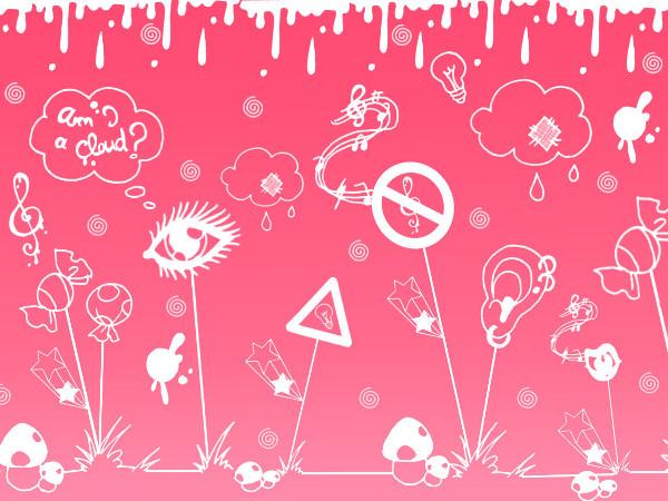 Set of Fantasy Doodle Brushes