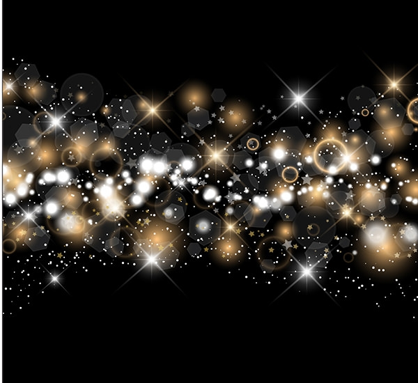 Sparkling-Lights-Golden-And-Silver-Background