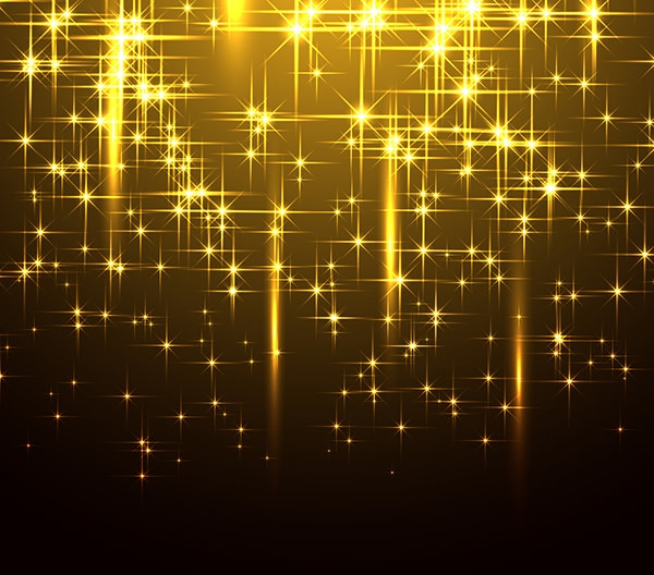 Sparkling Yellow background