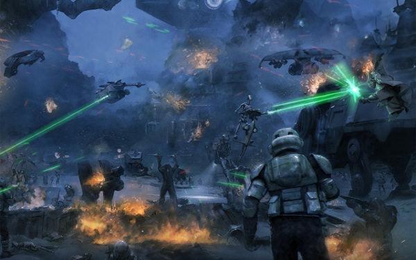 Star Wars HD Desktop Background