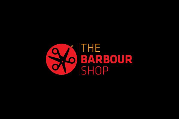 the barbor shop log design