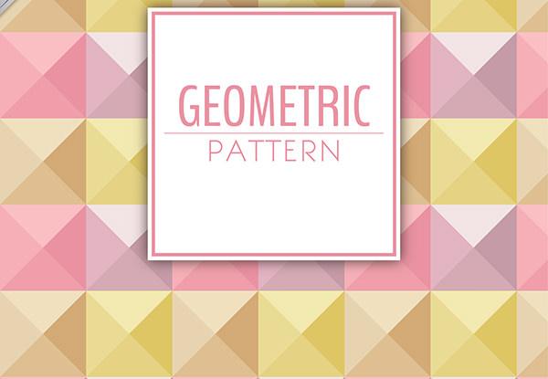 Triangles Geometric Pattern