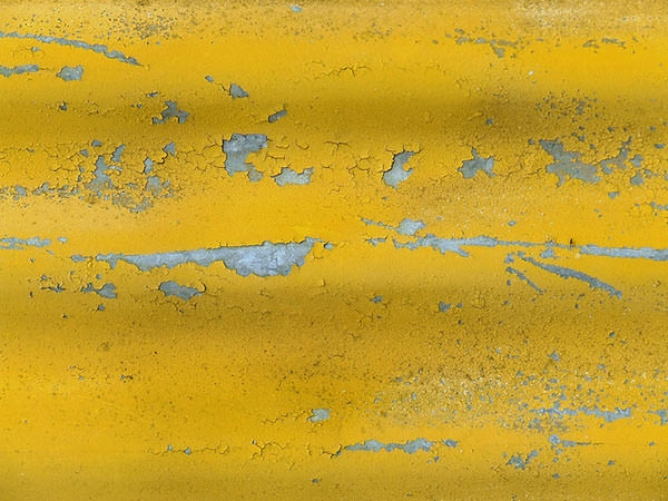 Yellow Peel Painting Texture