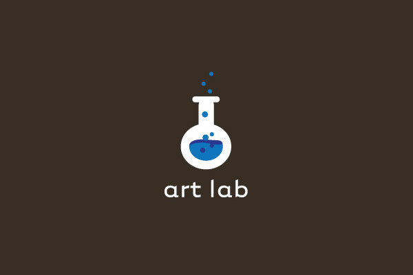 art lab logo design