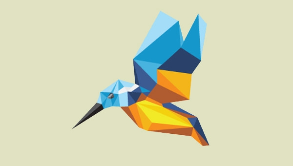 beautiful-low-poly-bird-logo-design