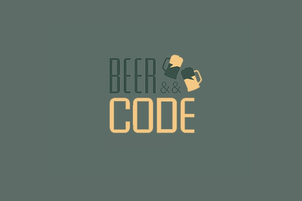 beer and Code Logo Design