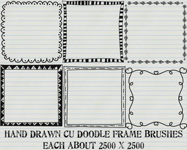 doodle_frame_brushes