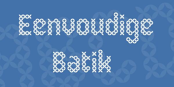 eenvoudige-batik-font