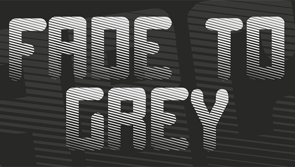 fade-to-grey-font