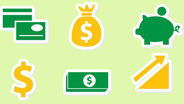 finance-icons-free-vector-set