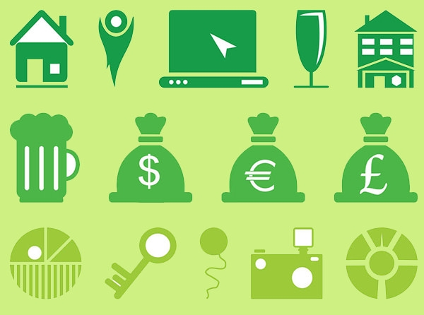 free vector currency elements