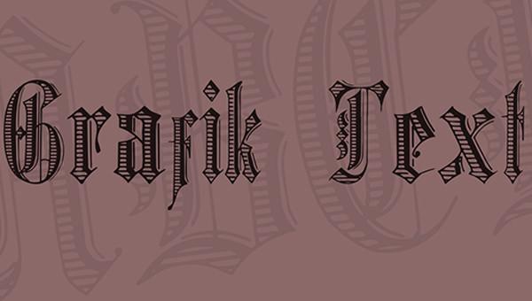 grafik-text-font