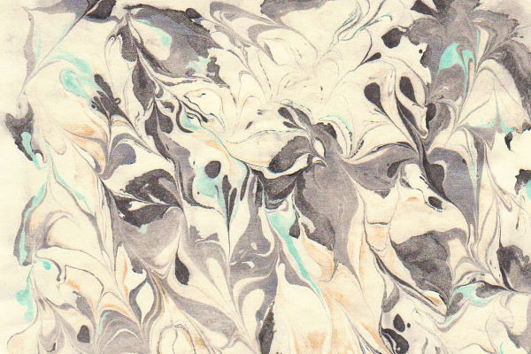 marbled paper stock texture