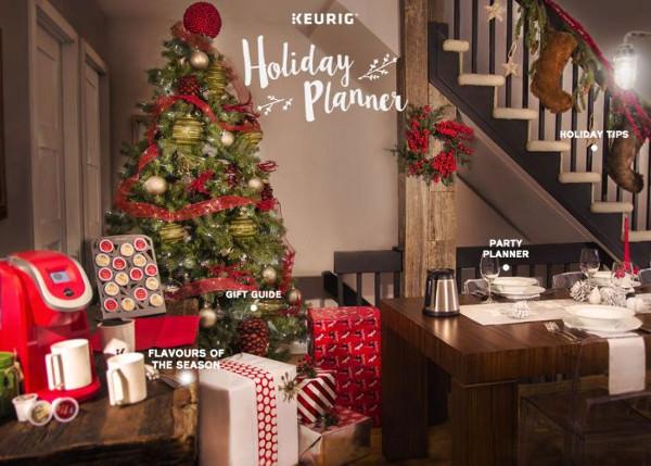 promo keurig Holiday Planner