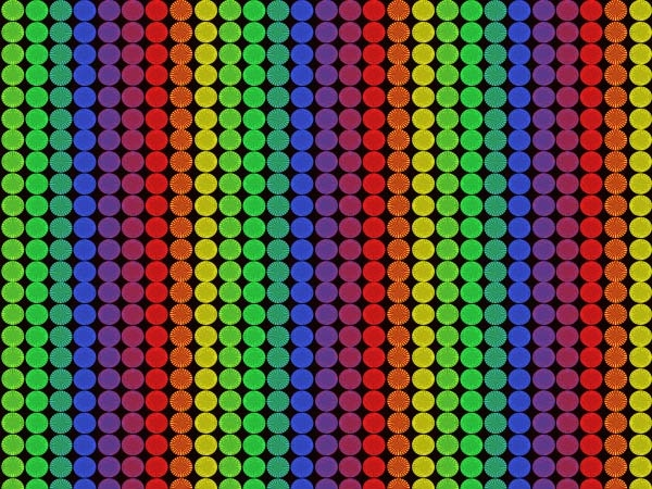 rainbow-pixels