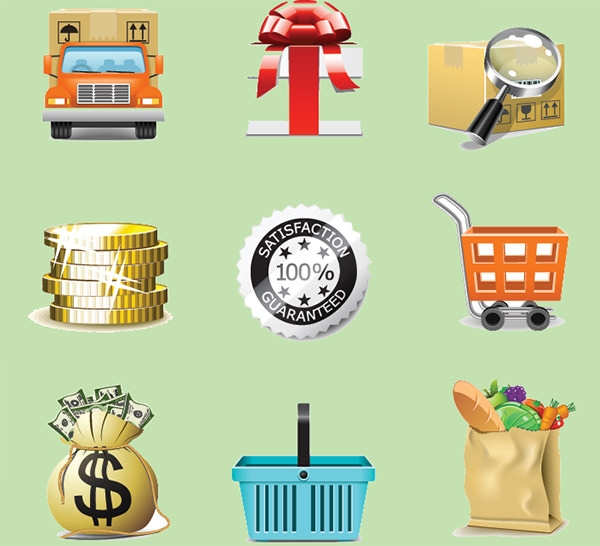 set_of_business_finance_icons_vector
