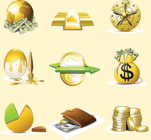 set_of_finance_icons_vector