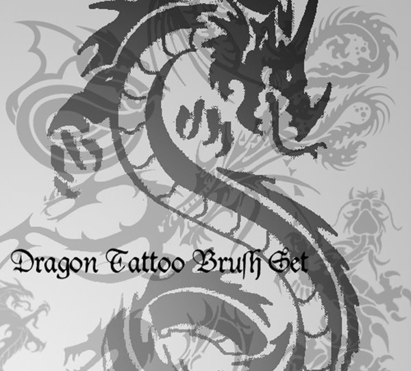 dragon tattoo brushes