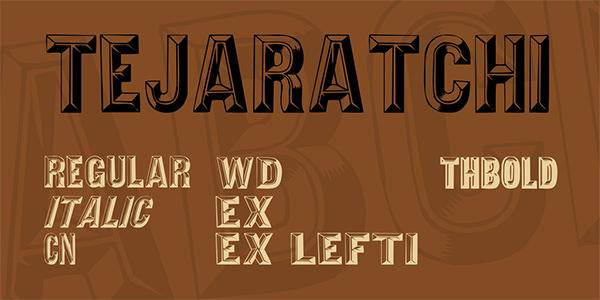 Tejaratchi Font Family