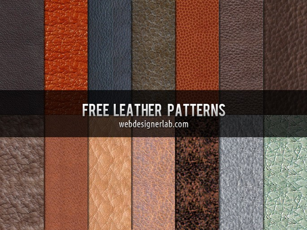 14 Free Seamless Leather Textures