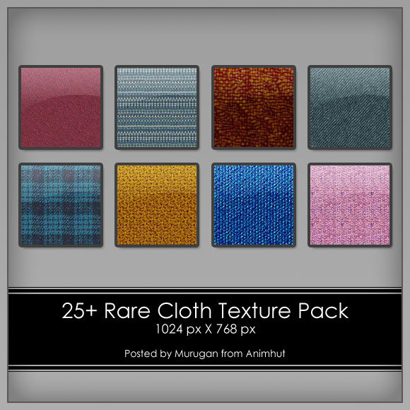 25+ Rare Cloth Textures Pack