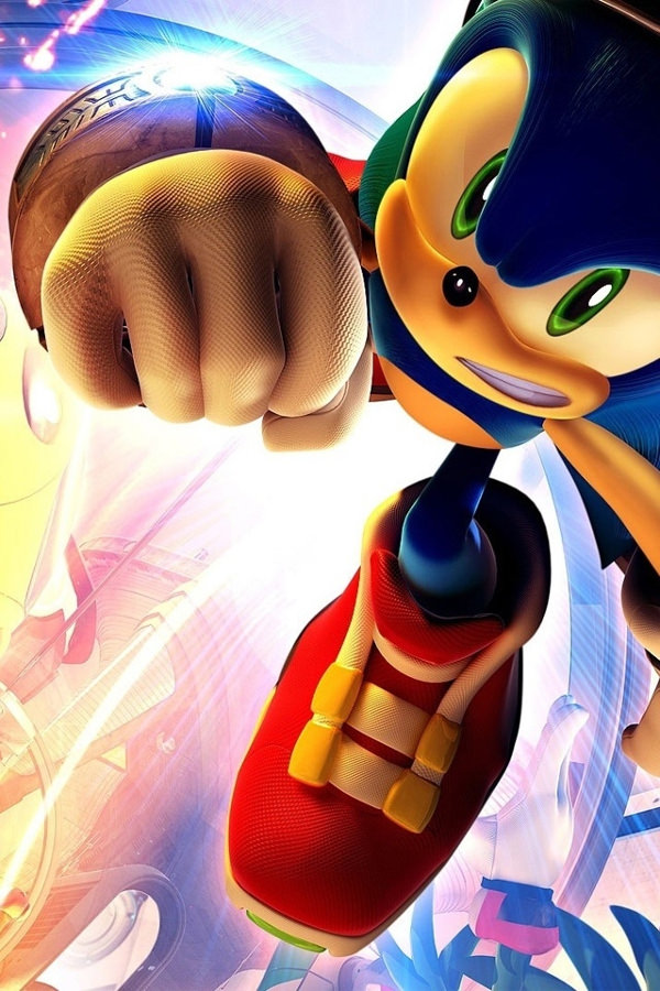 3d Cool Sonic Iphone 4 Background