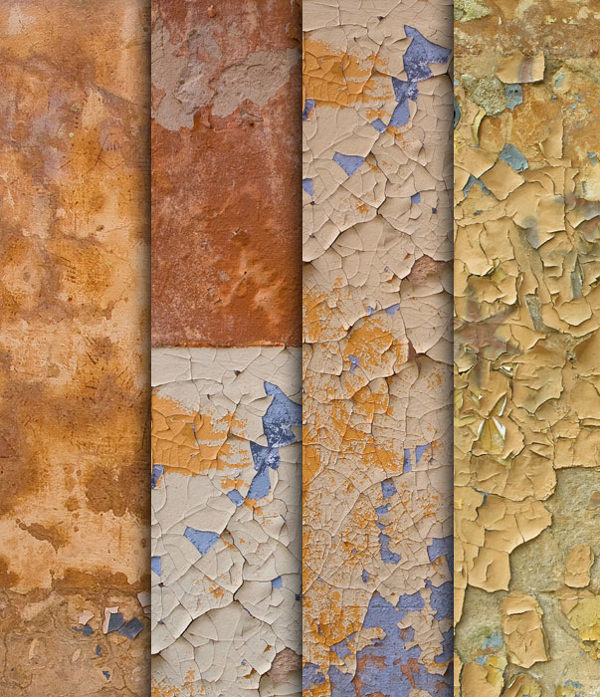 4 High Resolution Grunge Wall Textures